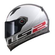 Capacete LS2 FF358 Classic Racing Preto