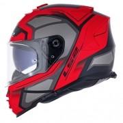 Capacete LS2 FF800 Storm Faster Vermelho/Titanium Lançamento