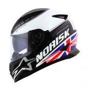 Capacete NORISK FF302 Soul Grand Prix UK (Reino Unido)