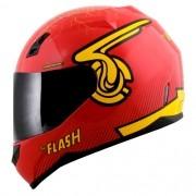 Capacete Norisk FF391 Stunt Flash Symbol DC Vermelho