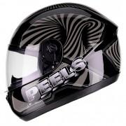 Capacete PEELS Spike 3D Preto/cinza Lançamento