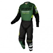 Conjunto ASW Image Camisa + Calça Knight Verde-Militar