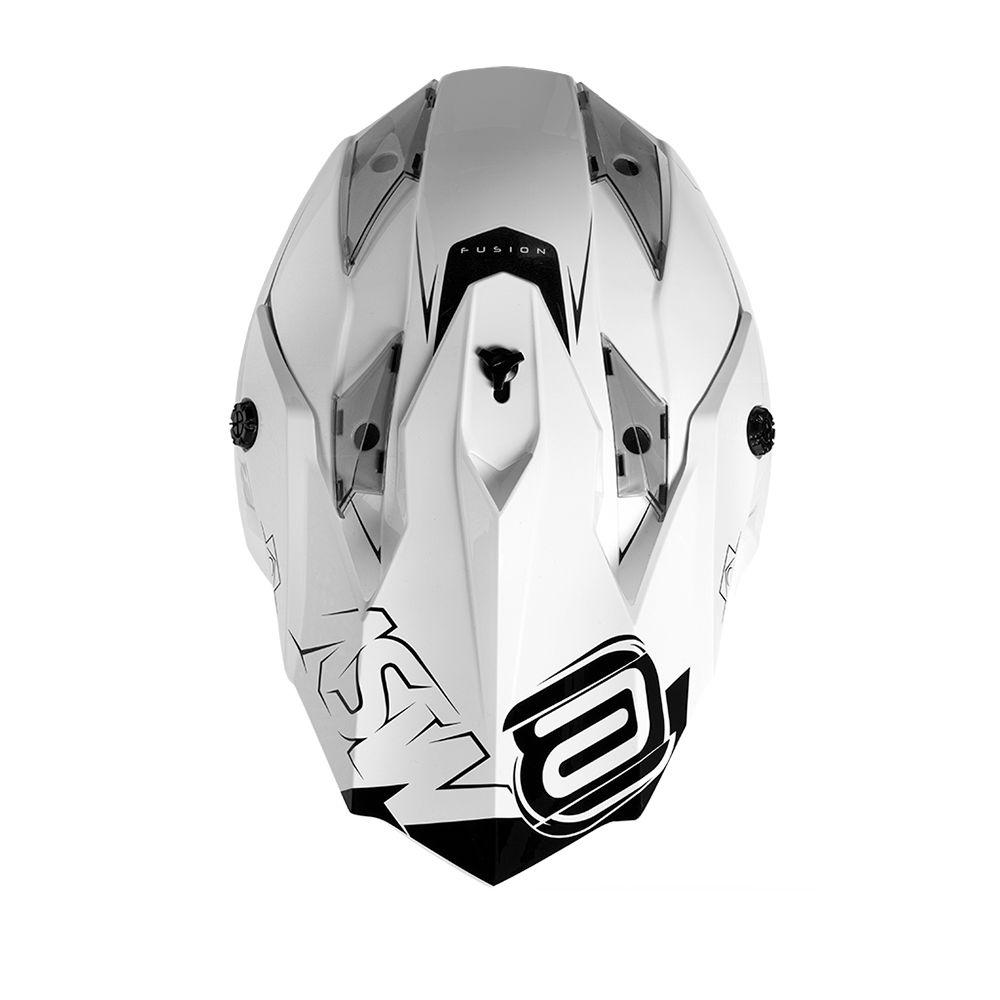 Capacete ASW Fusion Sharp Branco Lançamento 2020