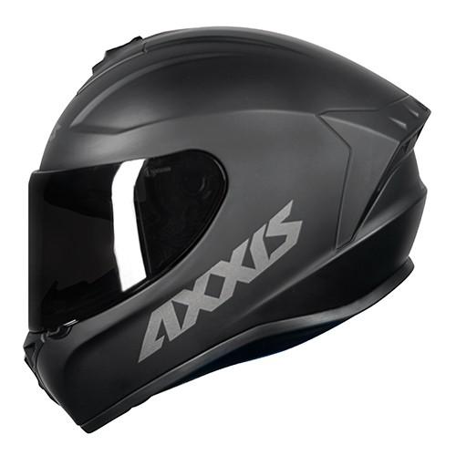 Capacete AXXIS Draken Solid Preto Fosco
