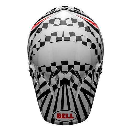 Capacete BELL MX-9 MIPS Tagger Check Me Out Preto Lançamento