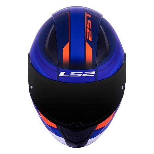 Capacete LS2 FF353 Rapid Slide Azul Laranja