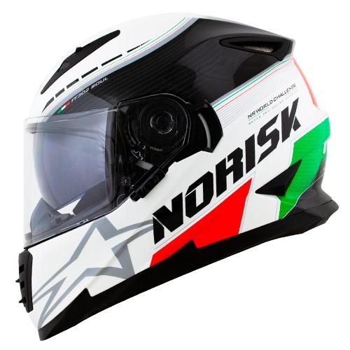 Capacete NORISK FF302 Soul Grand Prix Italy (Itália)
