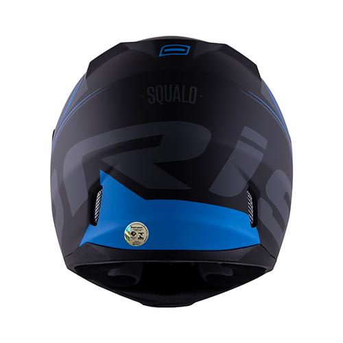 Capacete Norisk FF391 Stunt Squalo Preto Azul
