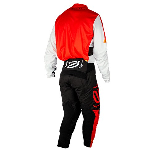 Conjunto ASW Image Camisa + Calça Knight Vermelho Preto
