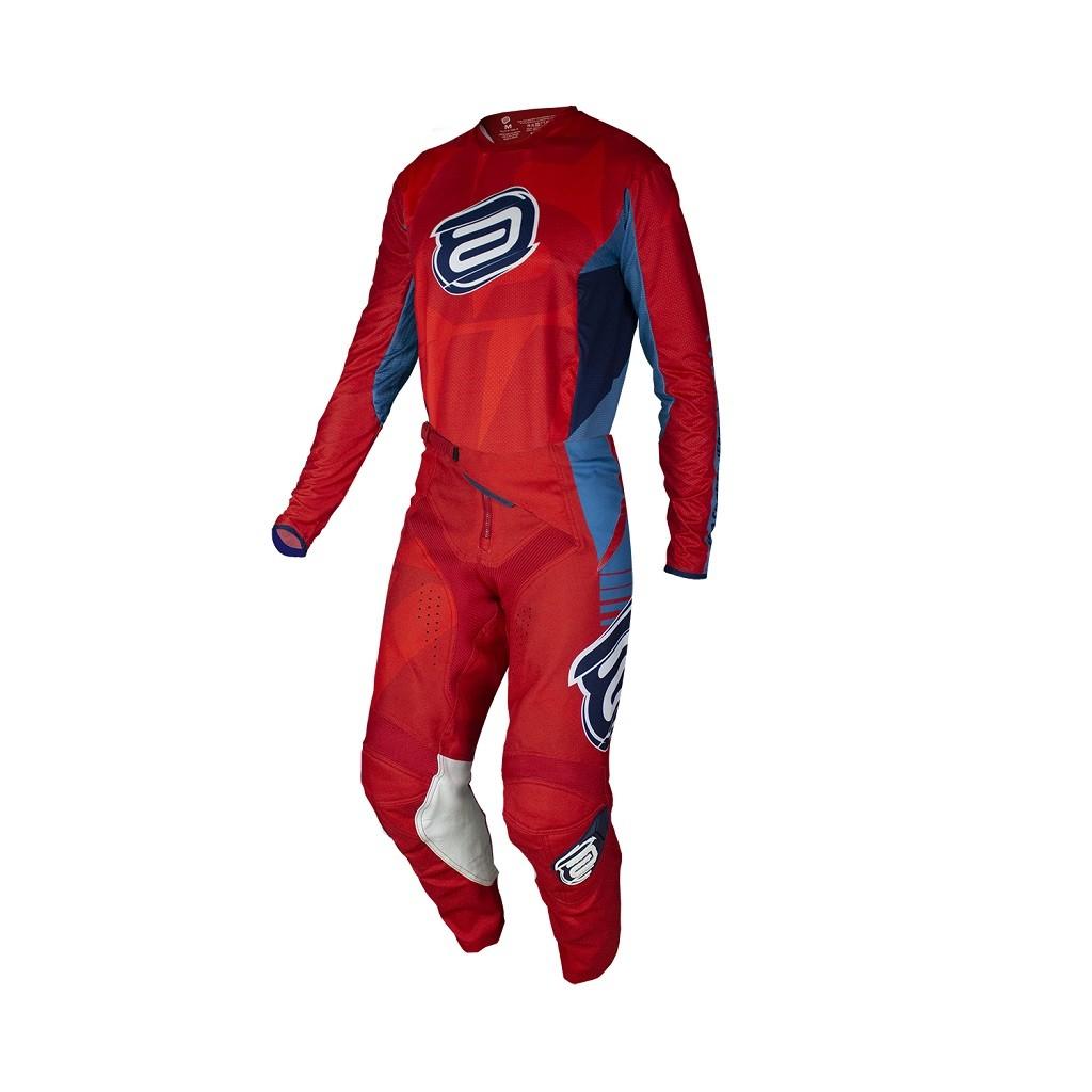 Conjunto ASW Podium Camisa + Calça New Era Vermelho Azul