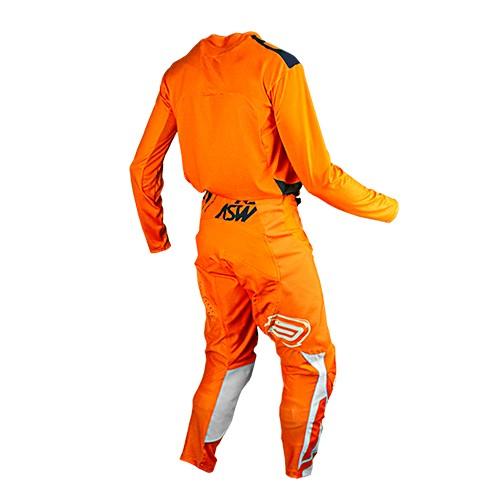 Conjunto ASW Podium Camisa + Calça  Race Empire Laranja
