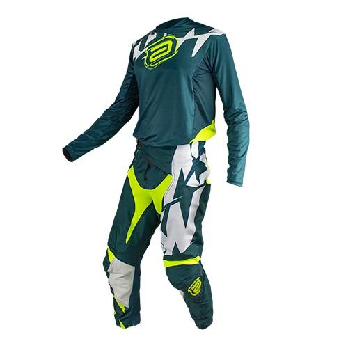 Conjunto ASW Podium Camisa + Calça  Race Era Verde-Militar