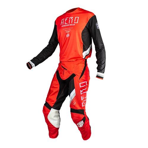 Conjunto ASW Podium Camisa + Calça  Race Empire Vermelho