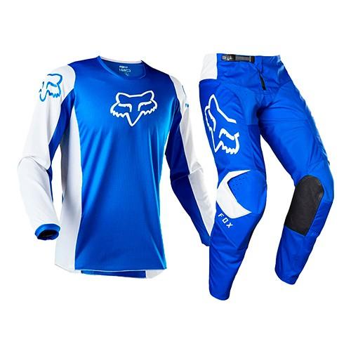Conjunto FOX MX 180 Prix Azul/branco Lançamento