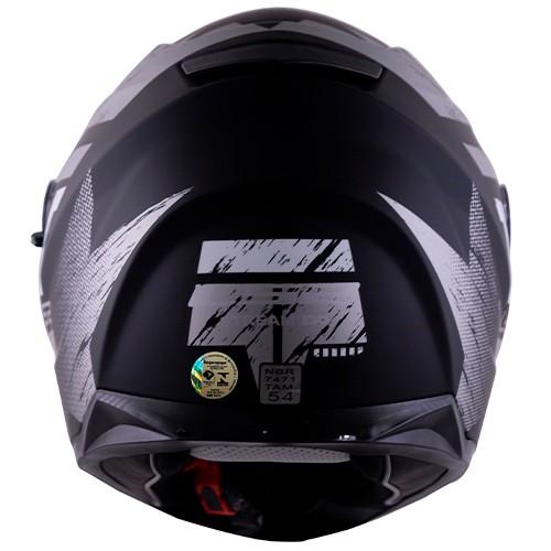 Capacete LS2 FF320 Stream Hunter Preto/titanium