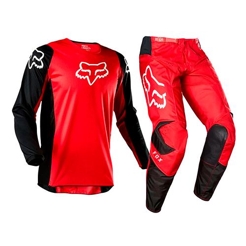 Conjunto FOX MX 180 Prix Vermelho/preto Lançamento