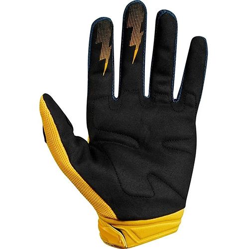 Luva FOX Dirtpaw Navy Amarelo Lançamento