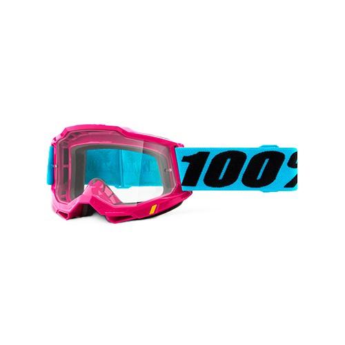 Óculos 100% Accuri 2 Lefleur Rosa Azul Espelhado