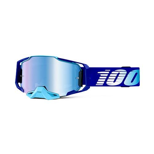 Óculos 100% Armega Royal Azul Espelhado Lançamento