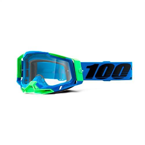 Óculos 100% Racecraft 2 Fremont Azul Espelhado