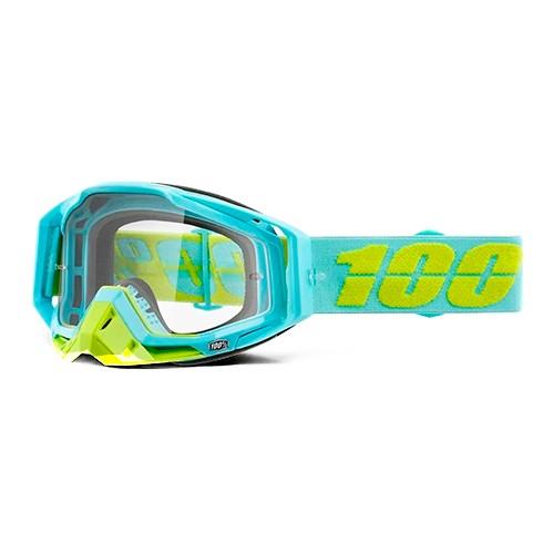 Óculos 100% Racecraft Pinacles Verde Espelhado