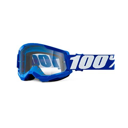 Óculos 100% Strata 2 Blue Azul Transparente
