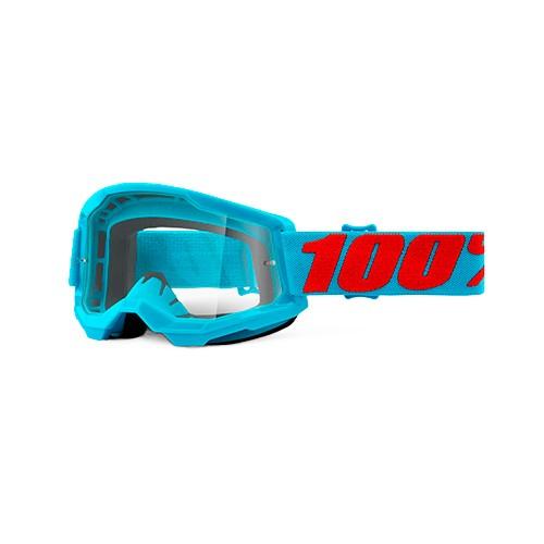 Óculos 100% Strata 2 Summit Azul Transparente
