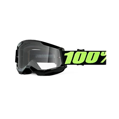 Óculos 100% Strata 2 Upsol Preto Transparente