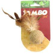 Brinquedo para Gatos - Bola Natural com Catnip - Jambo
