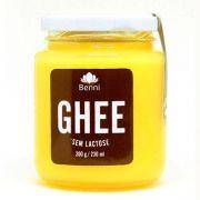 Manteiga Ghee - Sem Lactose - Tradicional -200g - Benni