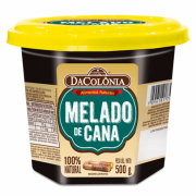 Melado de cana 100% natural 500g - Dacolônia
