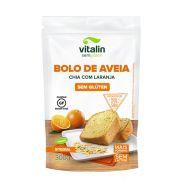 Mistura para Bolo Laranja, Aveia e Chia - Sem glúten - 300g - Vitalin