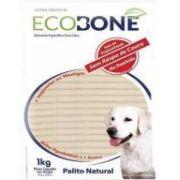 Ossinho Palito para cachorro 100% vegetal 6mm - EcoBone - 1kg