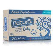 Sabonete Vegetal Baby com extratos de camomila e erva cidreira - 80g - Orgânico Natural