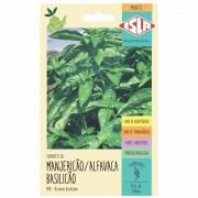 Sementes de manjericão / Alfavaca - Isla Sementes