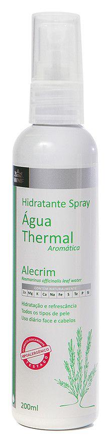 Água Thermal Natural, Vegana e Hipoalergênica - Alecrim - 200ml - WNF