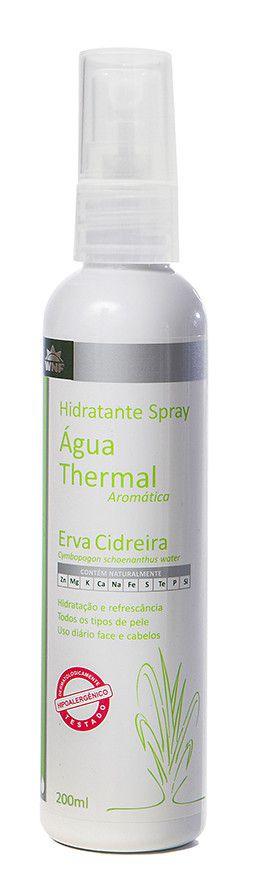 Água Thermal Natural, Vegana e Hipoalergênica - Erva Cidreira - 200ml - WNF