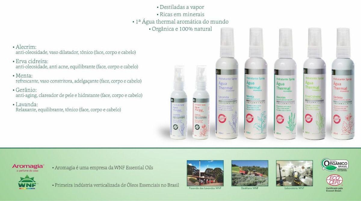 Água Thermal Natural, Vegana e Hipoalergênica - Lavanda - 200ml - WNF