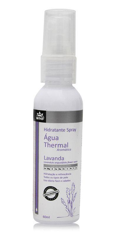 Água Thermal Natural, Vegana e Hipoalergênica - Lavanda - 60ml - WNF