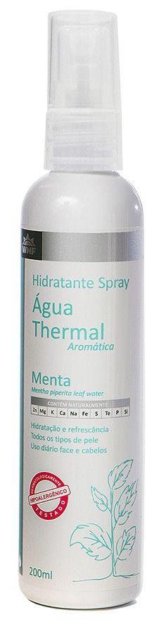 Água Thermal Natural, Vegana e Hipoalergênica - Menta - 200ml - WNF