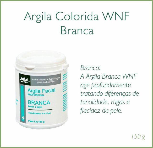 Argila Branca Natural - 150g - WNF