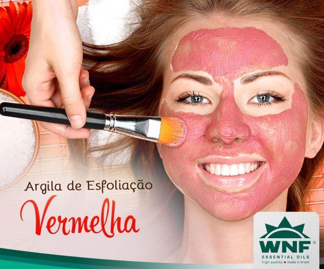 Argila Vermelha Natural - 150g - WNF