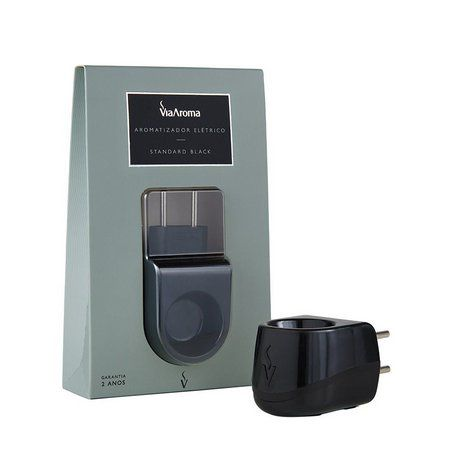 Aromatizador Elétrico Standard - Black - Bivolt - Via Aroma