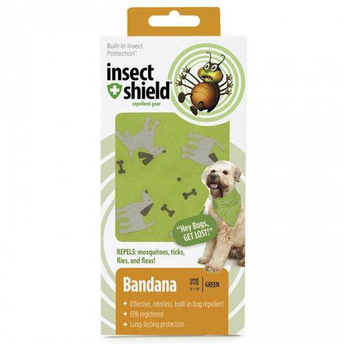 Bandana Verde- Insect Shield