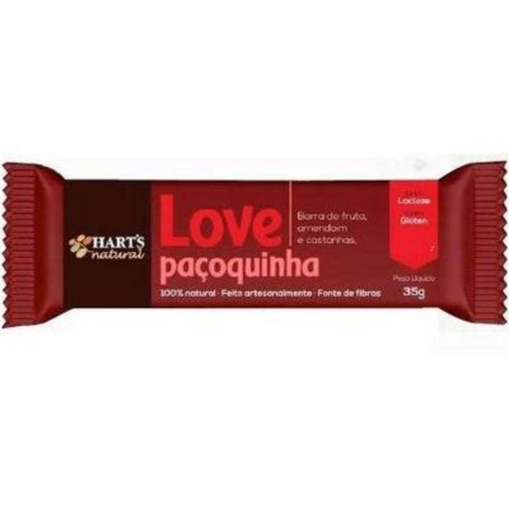 Barra de Fruta Love Paçoquinha Hart's Natural - 35g
