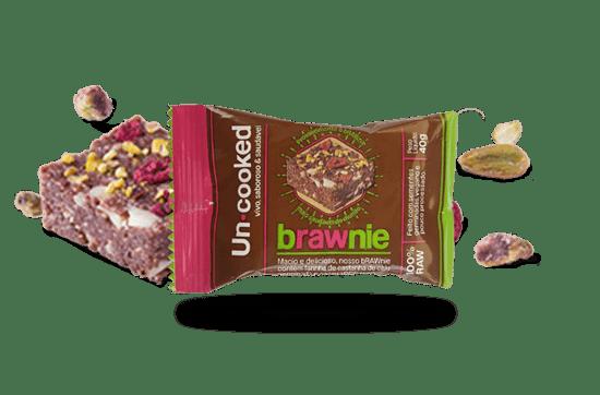 Brownie Uncooked Brawnie - 40g