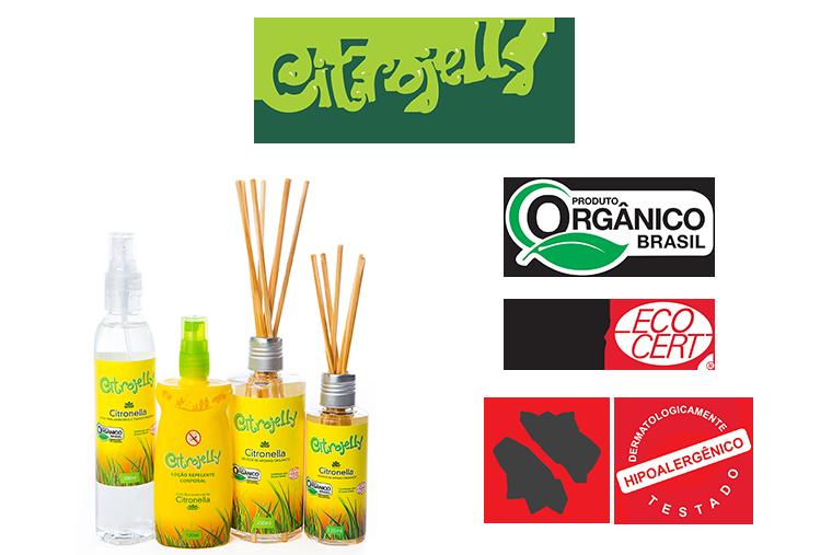 Citrojelly Difusor por Varetas Natural, Orgânico e Vegano- 250ml - WNF
