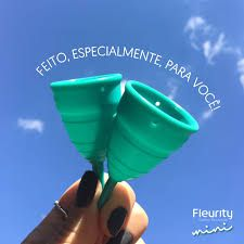 Coletor Menstrual Fleurity Mini (2 unidades)