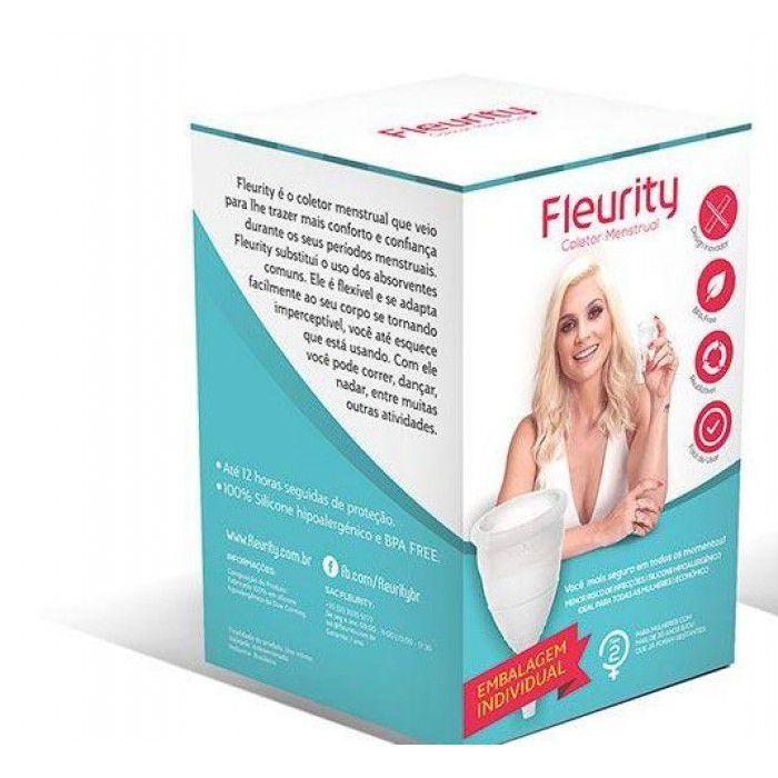 Coletor Menstrual Fleurity Tipo 2 Sem Pigmento 1 Unidade