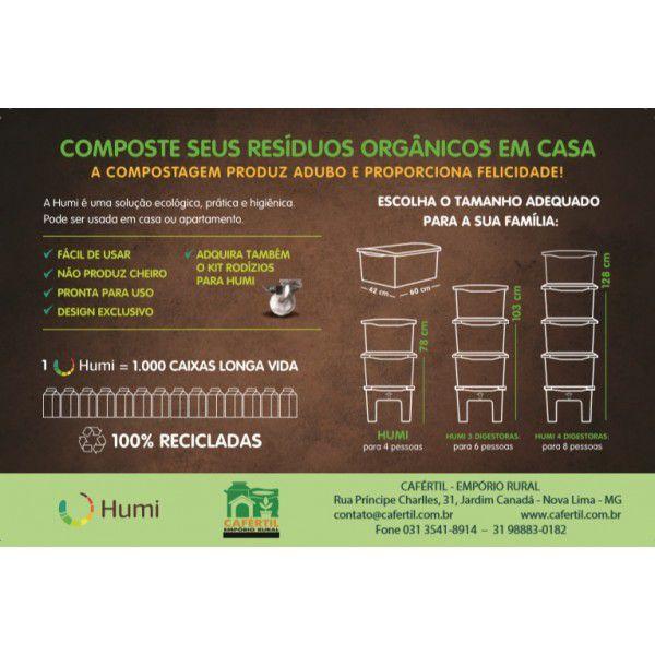 Composteira Humi - Marrom - Morada da Floresta